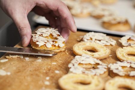baker's: Closeup of baker