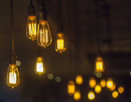 classic light bulb: light bulb Stock Photo