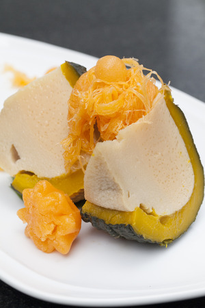 sweetmeat: Pumpkin custard