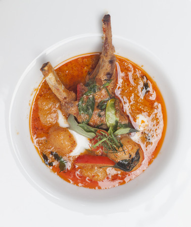 Lamb massaman photo