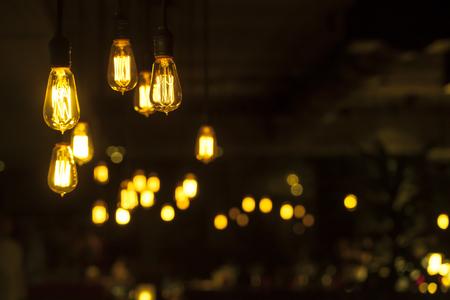 beautiful lighting decoration photo