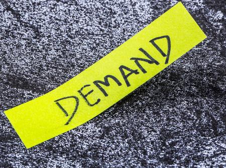 on demand: demand