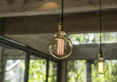Lighting decor Stock Photo