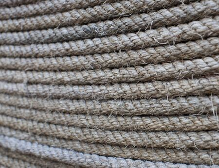 fixed line: Rough rope background