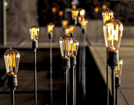 beautiful lighting decor Banque d'images