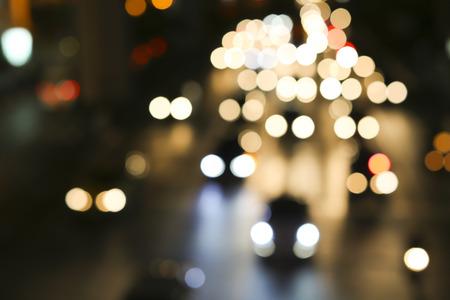 Nacht-Ampel Standard-Bild - 40860376
