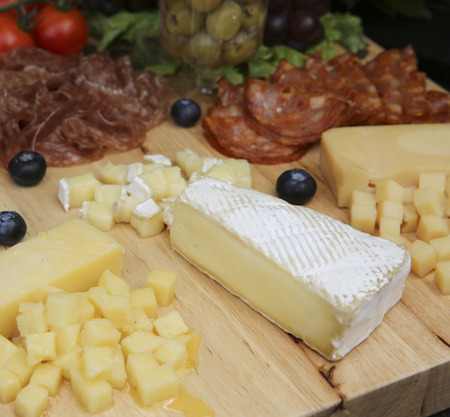 cheese board: Cheese board.