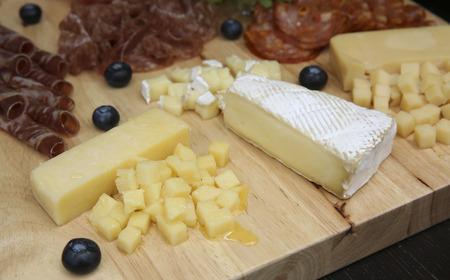 tabla de queso: Tabla de quesos.