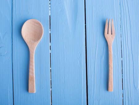 metier: Wooden spoon Stock Photo
