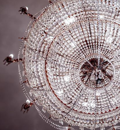 crystal chandelier: luxurious crystal chandelier