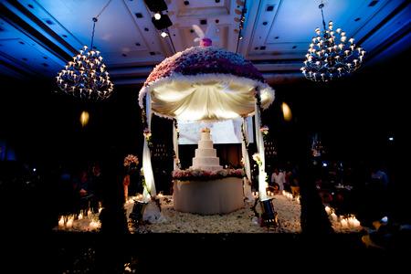 Belle réception de mariage