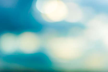 abstact: abstact blue bokeh background Stock Photo