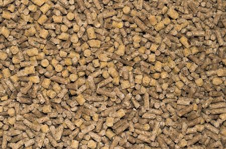 feeds: close up compressive animal feeds background Stock Photo