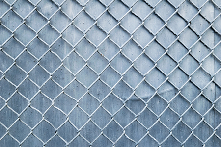 chain link: steel wire mesh fence wall background