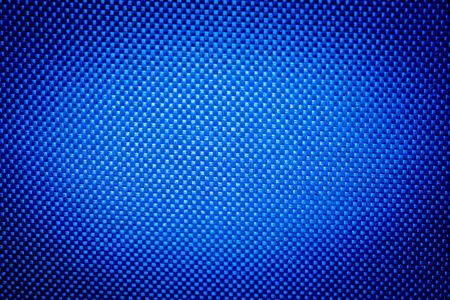 azul: nylon tejido de textura de fondo azul Foto de archivo