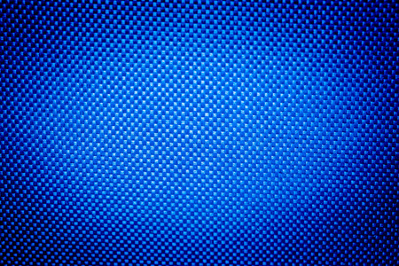 fondos azules: nylon tejido de textura de fondo azul Foto de archivo