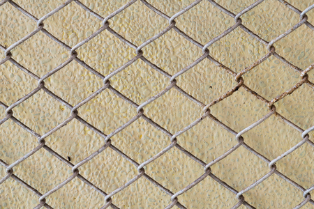 mesh fence: steel wire mesh fence wall background
