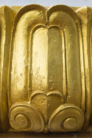 lotus petal: golden lotus petal sculpture