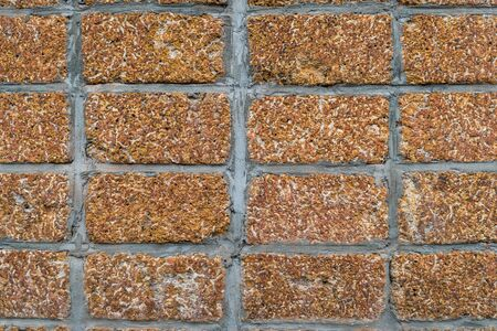 rusty brick wall background texture