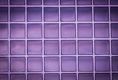glass block: Vignette purple glass block wall background