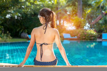 Asian women bikini