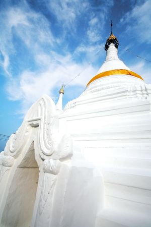 Antike Tempel in Nord-thailand Standard-Bild - 6716317