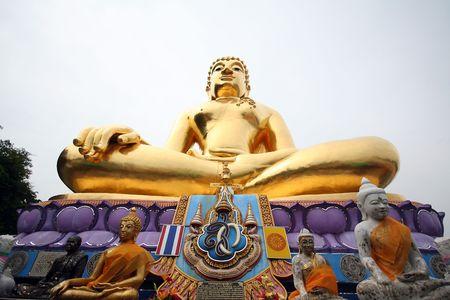 Golden Buddha Thailand Foto stock Standard-Bild - 6715875