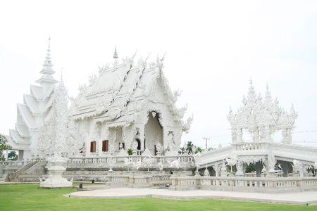 Weiße Tempel in Chiang Rai Provinz von Thailand  Standard-Bild - 6715987