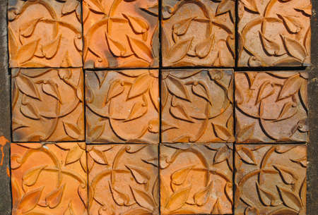 Earthenware tile of dan kwian village , NakornRatchasima, thailand Stock Photo - 11254375