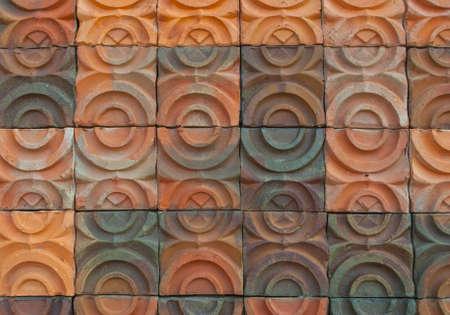 Earthenware tile of dan kwian village , NakornRatchasima, thailand Stock Photo - 11254385