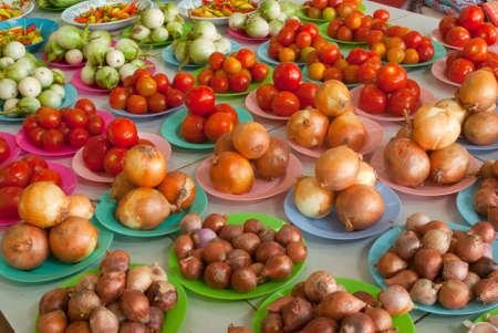 Vegetables, local market ,Loei ,Thailand Stock Photo - 11418821
