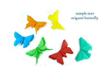 origami butterfly photo