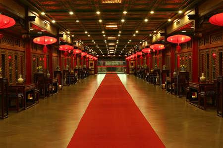 epoch: Oriental Red Carpet dalla Cina Archivio Fotografico