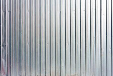 Textura de hoja de zinc de aluminio Foto de archivo