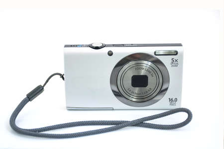 digicam: compact digital camera. Isolated