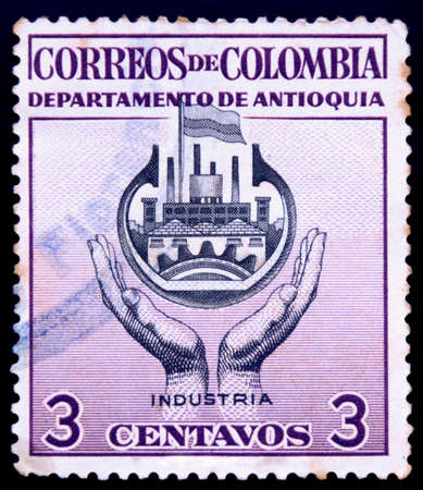 postage stamp columbia photo