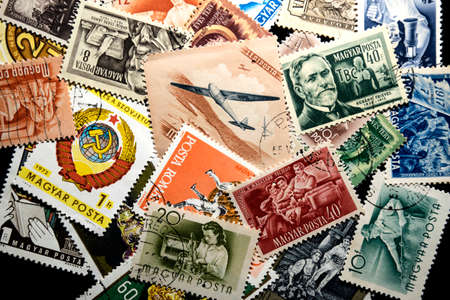 postage stamps: Hungarian postage stamps