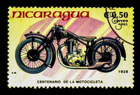 sello postal: Estampilla Nicaragua Editorial