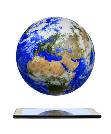 wor: Planet earth Stock Photo