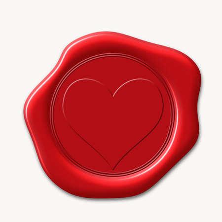 wax stamp: wax Seal