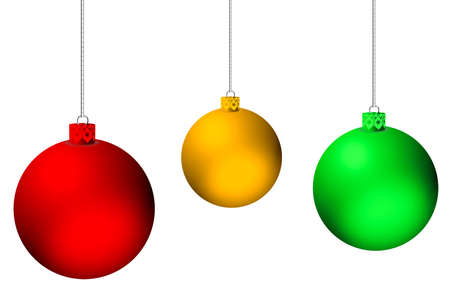 saturated color: Christmas Ball