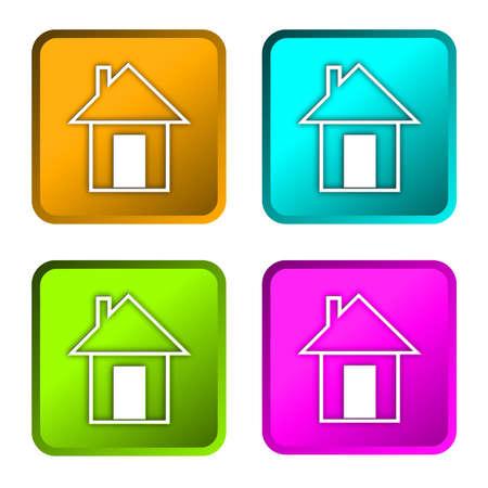 home icon: home icon Stock Photo