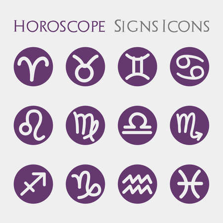 Horoscope Signs Icons