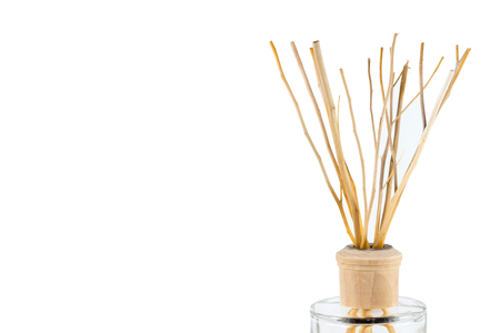 air diffuser: Reed diffuser isolated on white background
