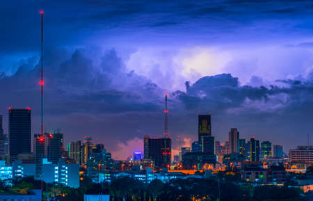 thunder in the sky photo