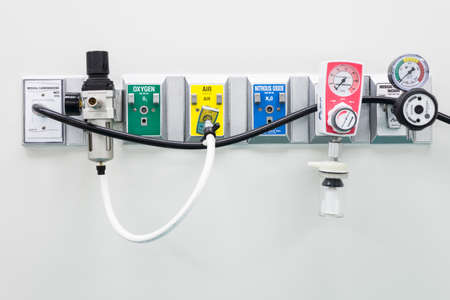 carbondioxide: Medical pipeline in operating room