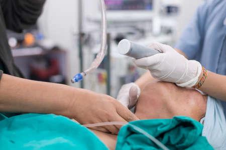 intubation: intubation