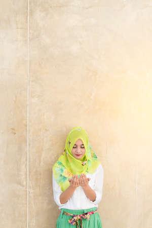 islamic prayer: islam woman