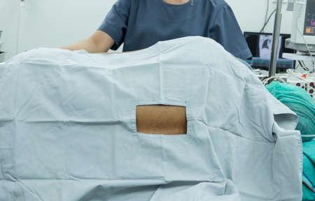 paraplegia: spinal block