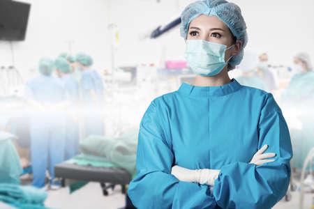 asian woman surgeon